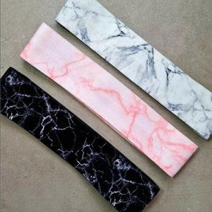 MARBLE Fabric Resistance Workout Booty Hip Bands